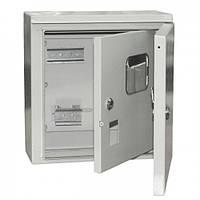 Корпус металлический ЩУ 1/1-1 74 У1 IP54 , ИЕК MKM51-N-04-54, щит ввода и учета электроэнергии, бокс 1ф