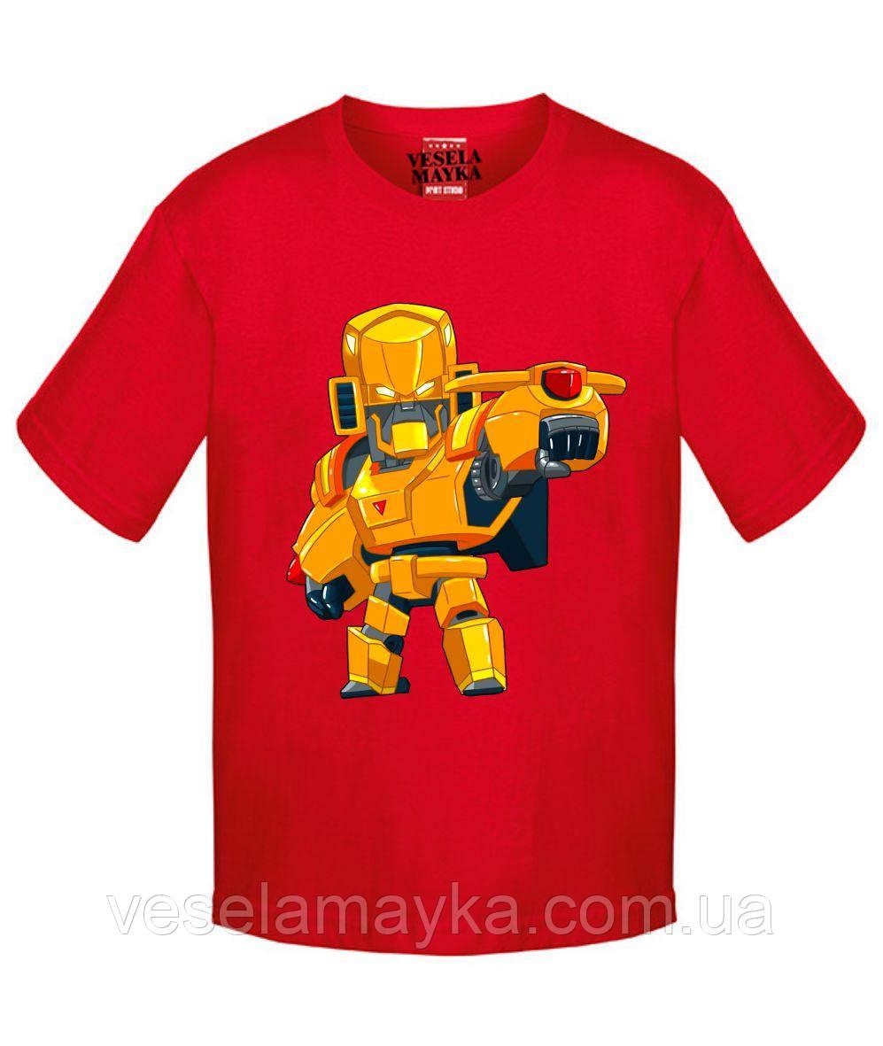 Детская футболка BS Golden Mecha Bo