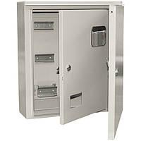 Корпус металлический ЩУ 3/1-1 У1 IP54 , ИЕК MKM51-N-09-54, щит ввода и учета электроэнергии, бокс монтажный