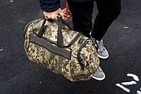 Спортивная камуфляжная сумка COMO дорожная, фото 1