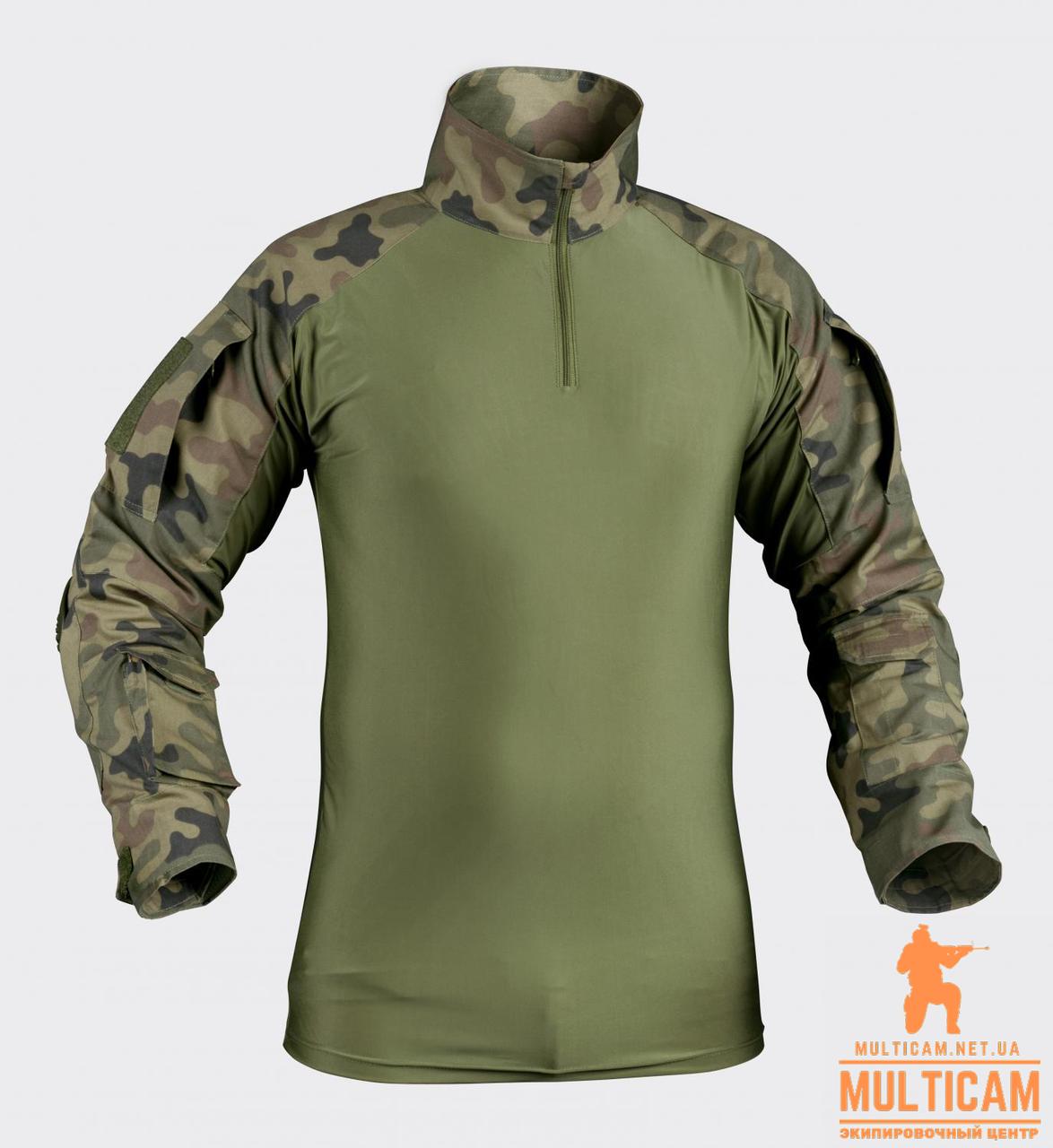 Сорочка бойова Helikon-Tex® Combat Shirt - PL Woodland