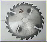 Пильный диск. с подрезными ножами. 450х50х24+6. Пильный диск по дереву. Циркулярка. Дисковая пила.Диск пильный, фото 7