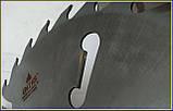 Пильный диск. с подрезными ножами. 450х50х24+6. Пильный диск по дереву. Циркулярка. Дисковая пила.Диск пильный, фото 8