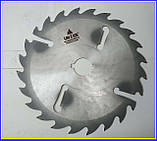 Пильный диск. с подрезными ножами. 500х50х18+6. Пильный диск по дереву. Циркулярка. Дисковая пила.Диск пильный, фото 7