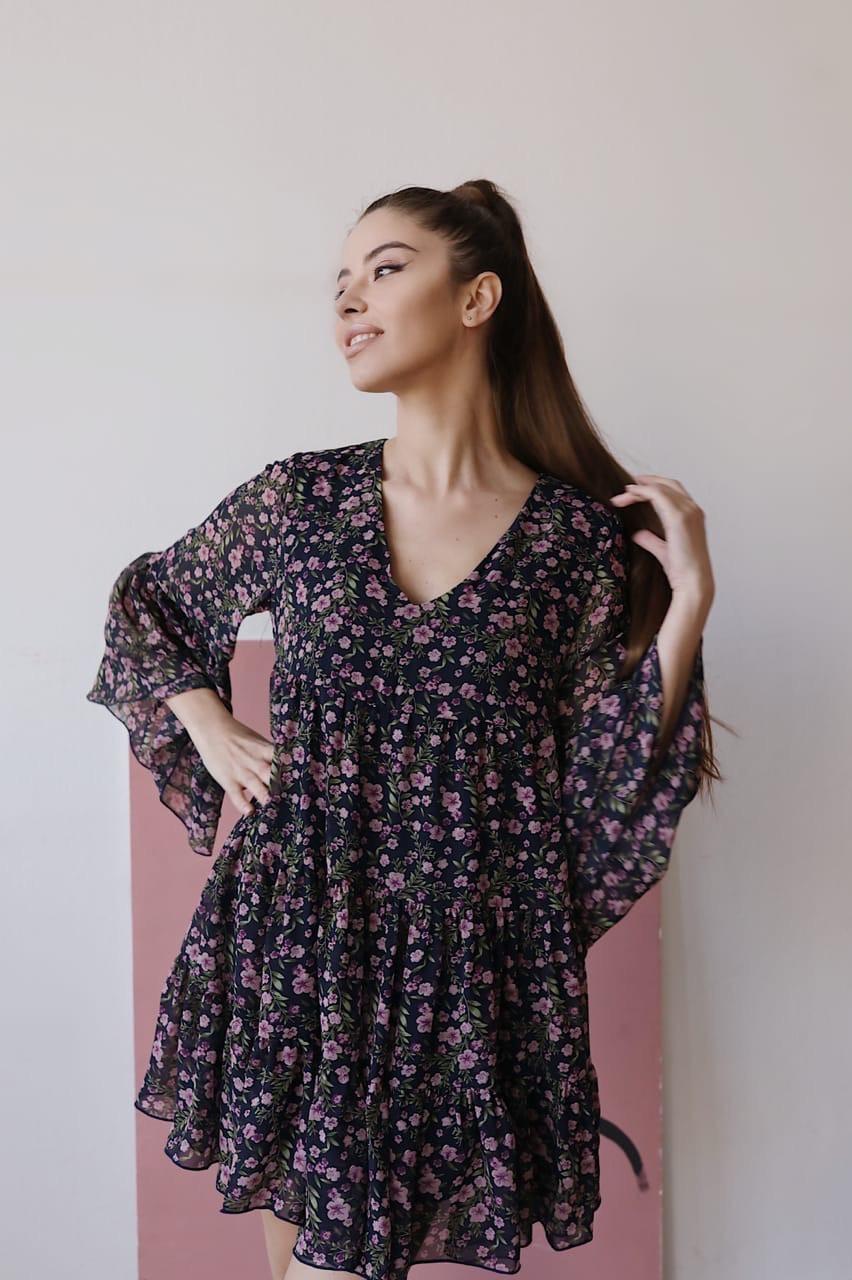 """Платье """"Ливия """" Легкое и воздушное.. Размер единый 42/46 (4061)"""
