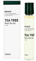 Успокаивающая сыворотка-ролик с маслом чайного дерева для проблемной кожи A'pieu Nonco Tea Tree Roll-On Oil 8 мл (8809581470637)