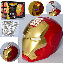 Игрушка Копилка - сейф с кодовым замком в виде супергероя Железный человек, 6233