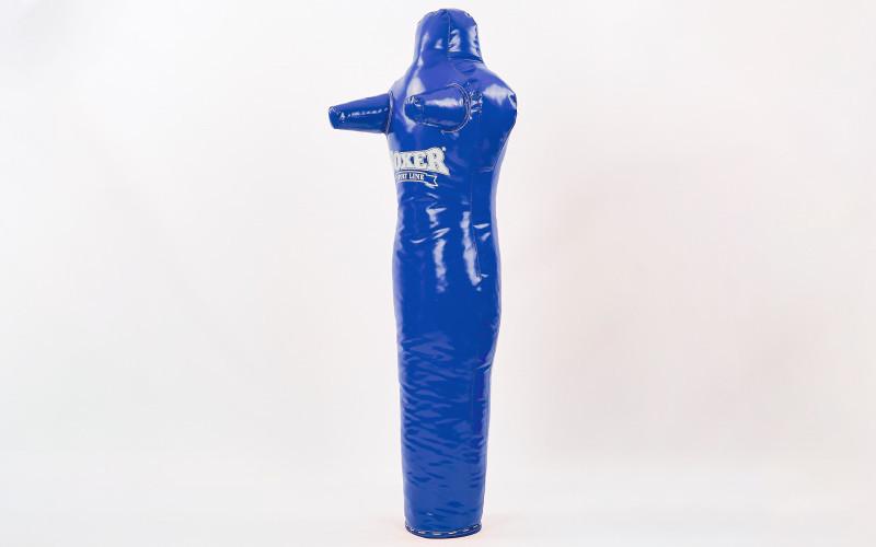 Манекен тренировочный для единоборств BOXER 1022-02 (ткань ПВХ, наполнитель-ветошь х-б, высота 120см, цвета в