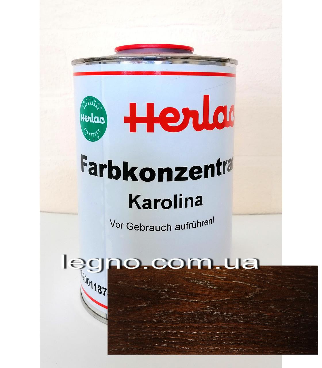 """Концентрат барвника Кароліна (Karolina) """"Герлак"""" (Herlac) - для підфарбовування лаків (лютофен), 1л, Німеччина"""
