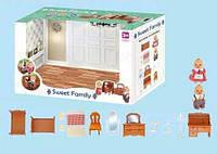 """Игровой набор мебели для гостинной """"Happy Family"""" 1602F"""