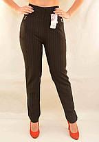 Штани штани в смужку - великі розміри ( Польща), фото 2
