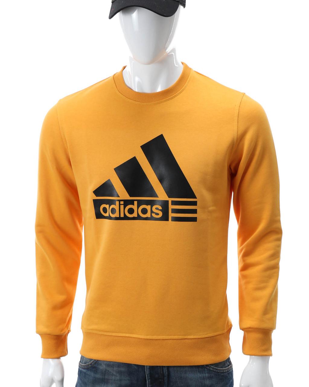 Свитшот желтый ADIDAS с лого YEL L(Р) 20-412-001