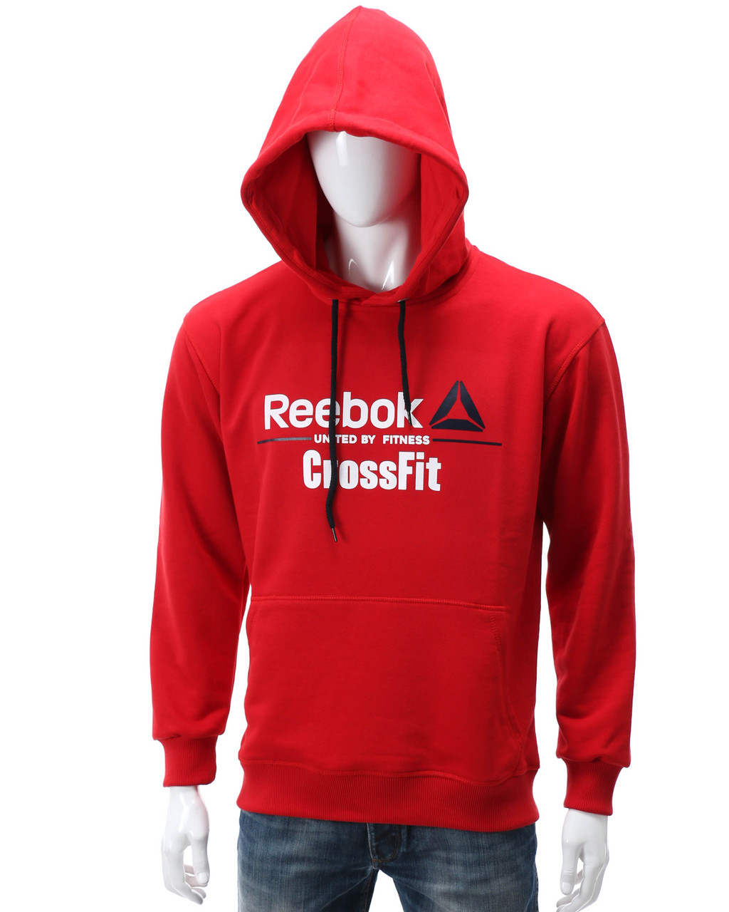 Худи красный REEBOK CROSSFIT Т-2 RED L(Р) 20-476-211