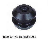 Подушка двигателя MAN 84x72  усиленная, 81960200382