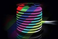 Гибкий Led неон # 50-RGB AVT-NEON 72RGB5050-220V-12W/m IP65 10mm
