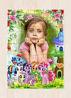 Печать фото на пазлах. Пазлы для детей