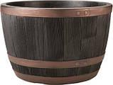 Цветочный горшок Keter Blenheim Half Barrel 22 L, фото 3