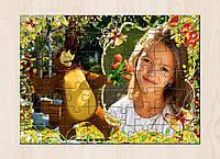 Печать фото на пазлах. Подарок для девочки