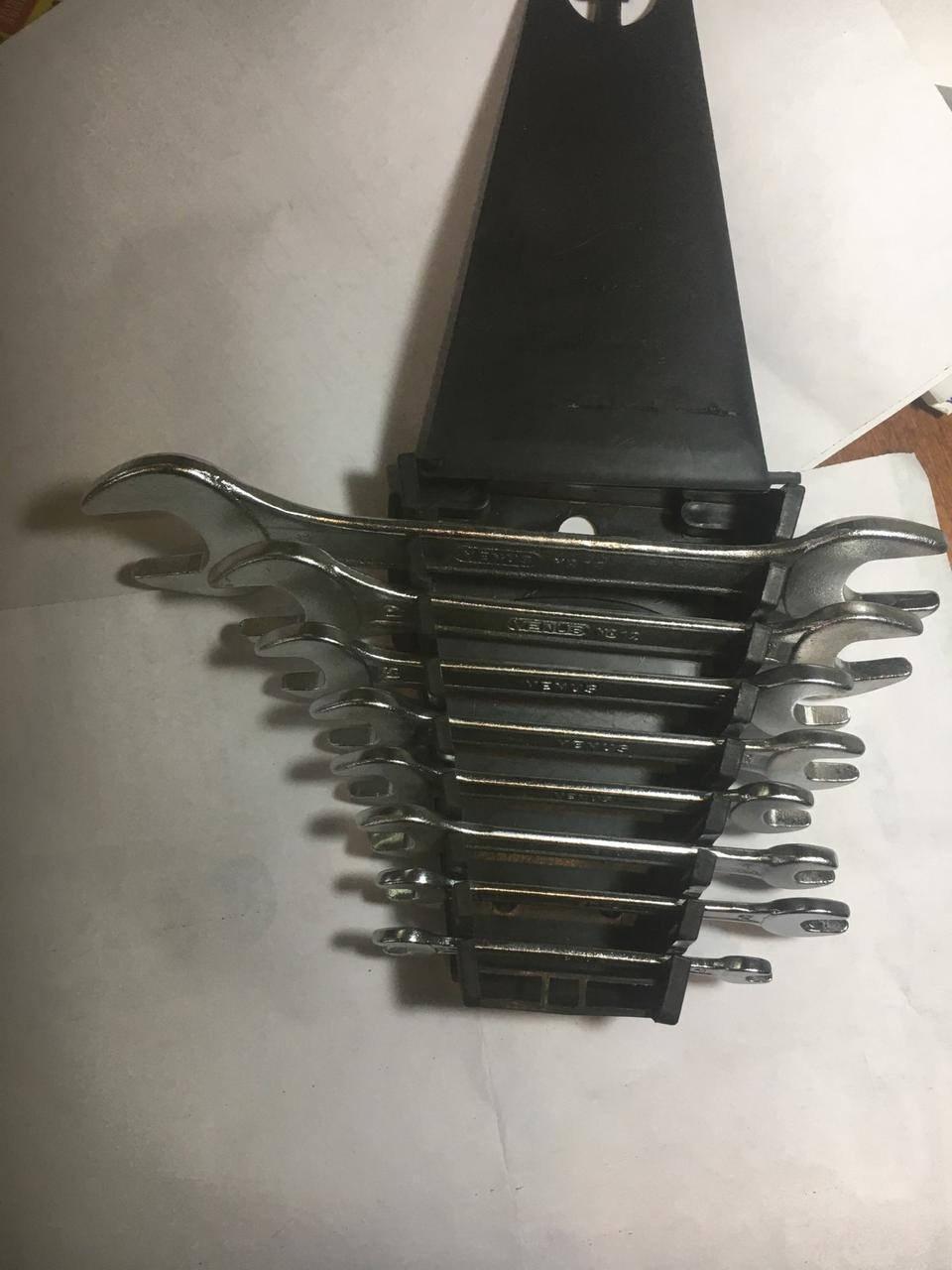 Набір ключів Ріжкові 6 шт.( Хромові)