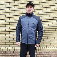 Мужская весенняя, демисезонная куртка больших размеров р-50, 52, 54, 56, 58 Модная, стильная, красивая