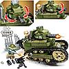Конструктор Sembo Block Военный танк 368 деталей, фото 4
