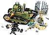 Конструктор Sembo Block Военный танк 368 деталей, фото 3