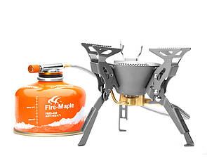 Титанова газова пальник зі шлангом Fire-maple FMS-100T Туристична. Туристичний газовий пальник зі шлангом.
