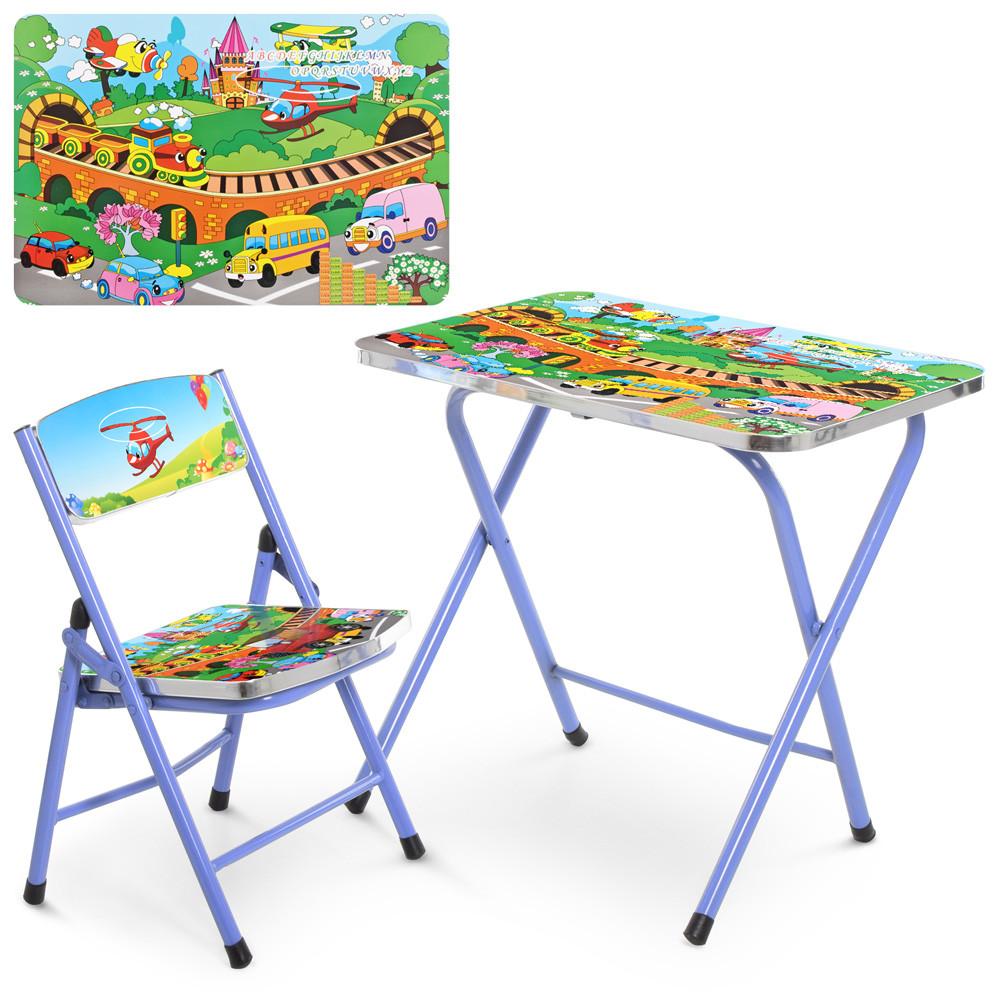 Детский столик складной A19-TC Транспорт ***