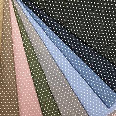Рубашечная ткань горох