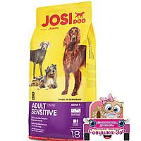 Корм Josera Josi Dog Adult Sensitive Йозера Йозі Дог Едалт Сенситів для дорослих собак 18 кг