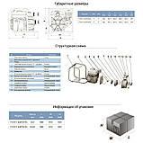Мотопомпа 6,5л.с. Hmax 30м Qmax 60м³/ч (4-х тактный) LEO (772515), фото 2