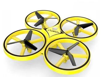 Квадрокоптер с управлением жестами руки браслетом  Dowellin Gravity дрон коптер