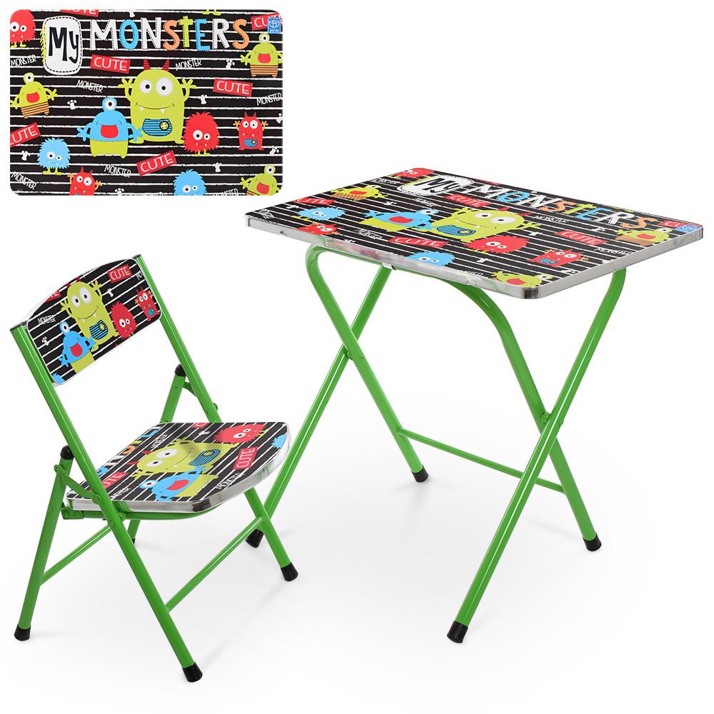 Детский столик складной A19-MONST  Монстры ***