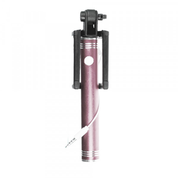 Monopod with cable metall rose gold