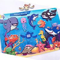 Гра на липучках Морські тварини, фото 1