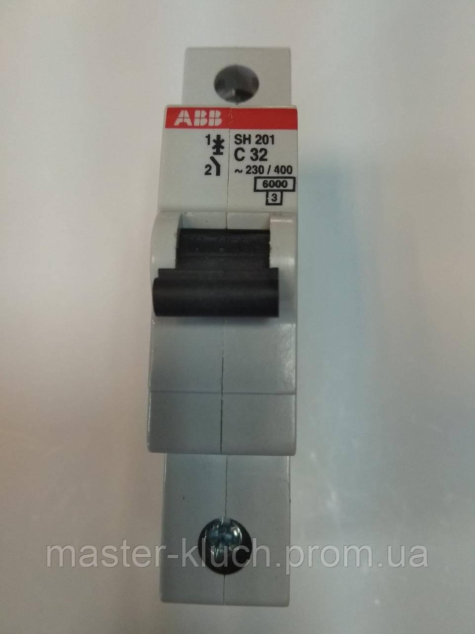 Автоматический выключатель АВВ SH201 C32А