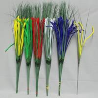 Цветная бархатная 01-2 ветка искусственная