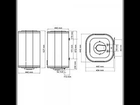 Бойлер Arti WH Cube Dry 50L/2  602260, фото 3