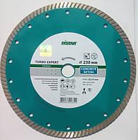 Алмазный диск для резки армированного бетона Distar Expert Turbo 230x2,6x9x22,23