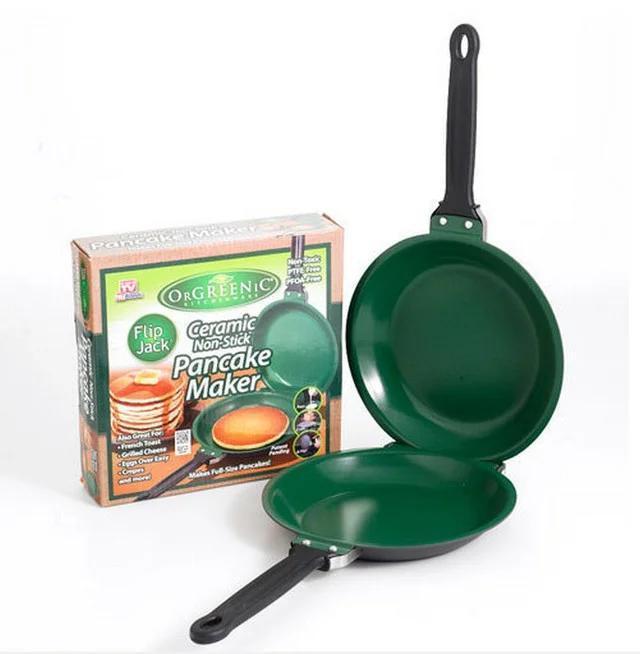 Двостороння сковорода для приготування млинців і панкейків Ceramic Non Stick Pancake Maker ,