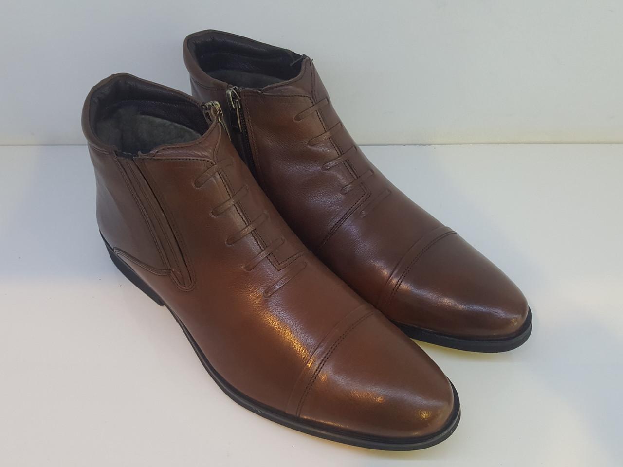 Ботинки Etor 11102-5556-5 41 коричневые