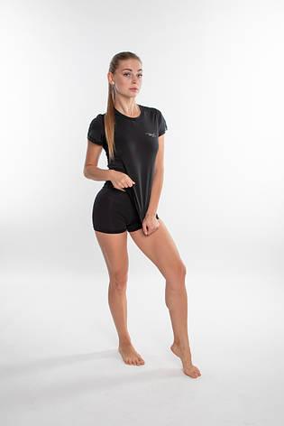 Спортивная женская футболка Rough Radical Capri (original), рашгард с коротким рукавом, компрессионная, фото 2