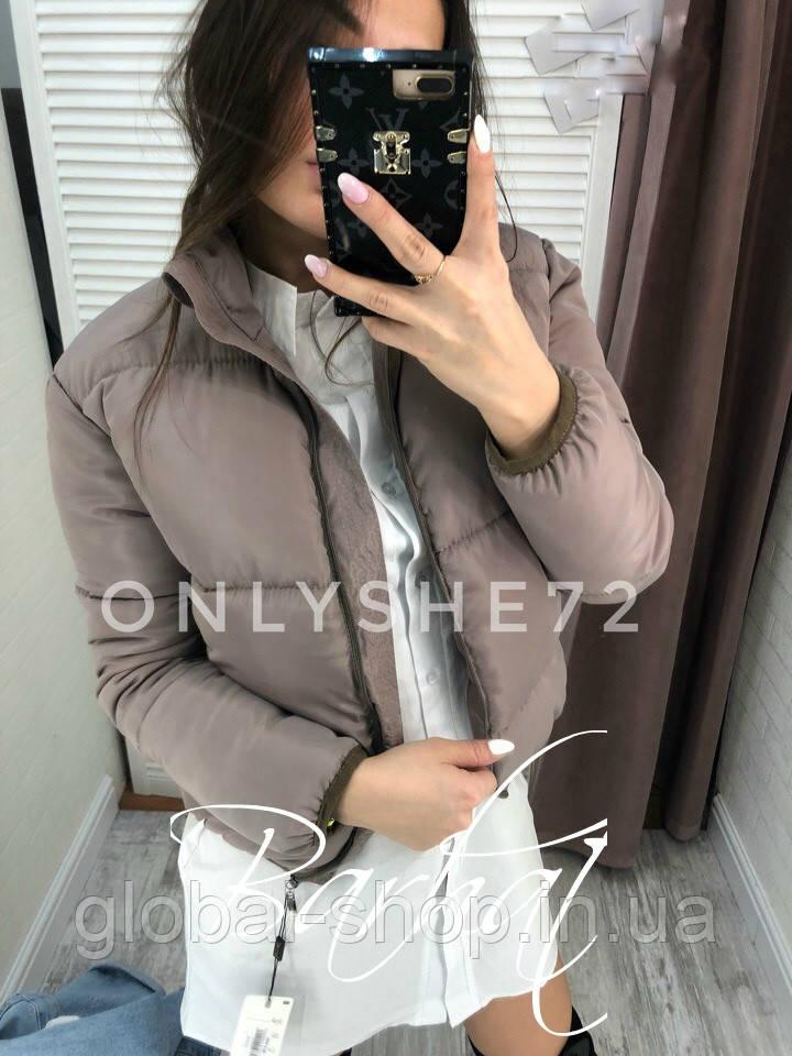 Женская куртка,Плащевка Канада + Синтепон 200 + Подкладка,7 цветов ,код 0414