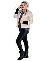 Стильная женская куртка весенняя больших размеров в наличии