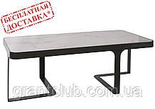 Стіл журнальний SHEFFIELD (Шеффілд) кераміка, білий глянець 121х61х41 Nicolas (безкоштовна доставка)
