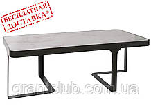 Стол журнальный SHEFFIELD (Шеффилд) керамика белый глянец 121х61х41 Nicolas (бесплатная доставка)
