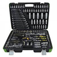 Професійний набір хромованих інструментів 216 предметів  JBM (52840)