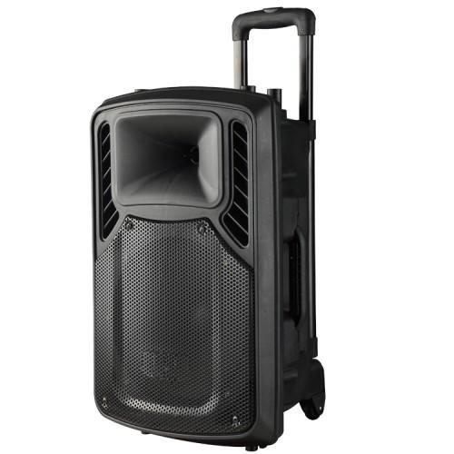 Аккумуляторная Акустика Колонка-Чемодан EU-1506 Bluetooth.USB,FM