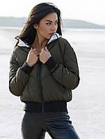 Теплая короткая куртка. Женская куртка на резинках. Женская верхняя одежда РАЗНЫЕ ЦВЕТА