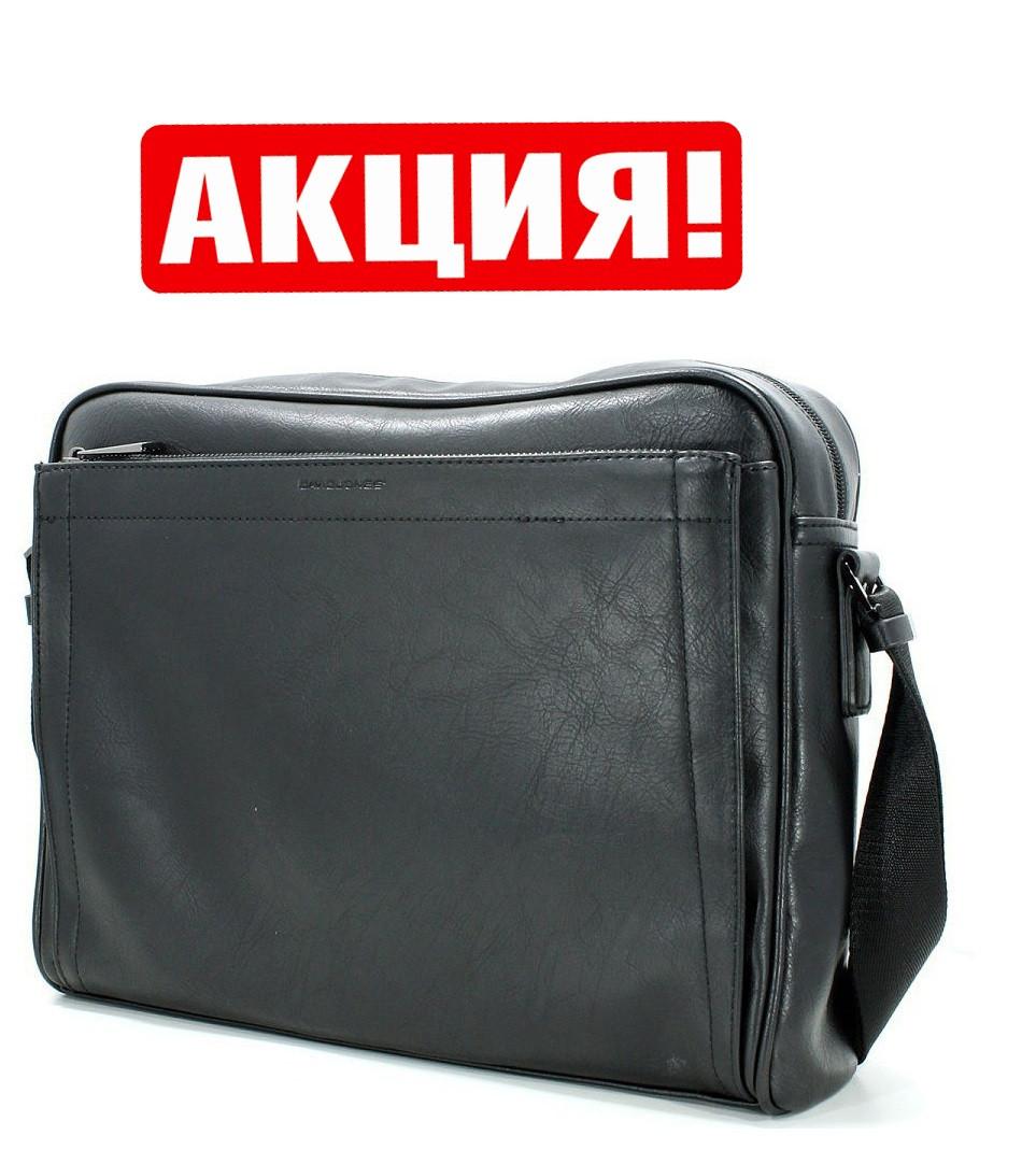 Мужская черная сумка David Jones Мужская сумка-портфель